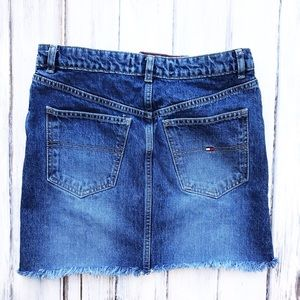 Tommy Hilfiger Skirts - 90s Vintage Denim Mini Skirt